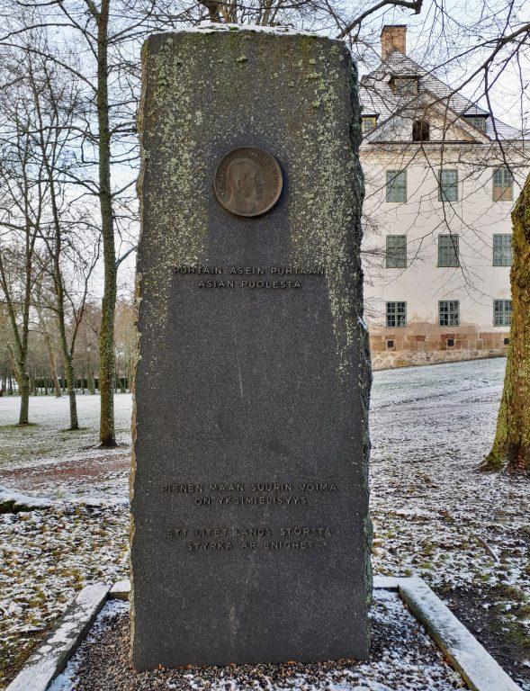 Mannerheimin muistokivi